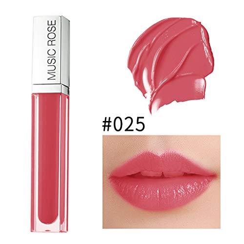 Vaycally Neues Make-up, neues Lipgloss-Make-up Matte Lipstick Langlebige wasserdichte Flüssigkeit,...