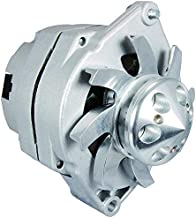 New Alternator Replacement For Self Exciting Low RPM Cut In W/Billet Style Pulley 100A 1100125