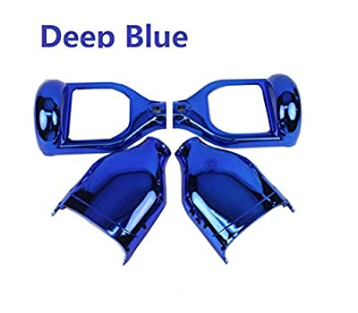 YAVOCOS Deep Blue 6.5 inch Chrome Outer Plastic Cover Case Shell Replacement Smart Self Balance Wheel Balancing Electric Scooter Spare Parts