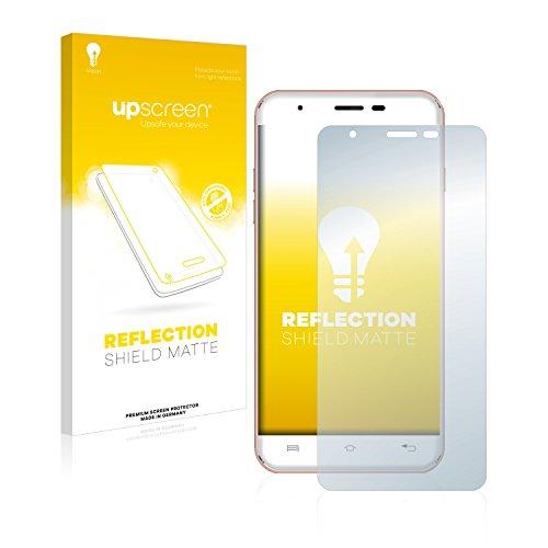 upscreen Entspiegelungs-Schutzfolie kompatibel mit Oukitel U7 Plus – Anti-Reflex Bildschirmschutz-Folie Matt