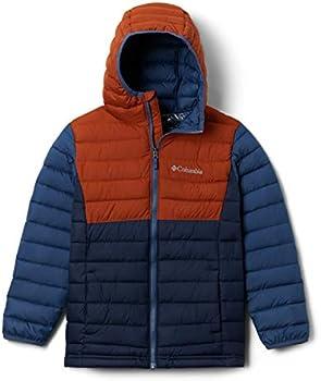 Columbia Youth Boys Powder Lite Hooded Jacket