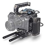 (Tactical Gray) TILTA TA-T01-A-G Cámara de Cine de Bolsillo para BMPCC 4K / BMPCC 6K Cage Jaula Tiltaing Blackmagic 4K 6K Rig (Tactical Kit)