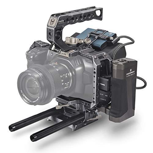 (Tactical Gray) TILTA TA-T01-A BMPCC 4K / 6K Kamera Käfig Tactical Camera Cage Tiltaing Blackmagic Pocket Cinema Camera 4K / 6K Rig (Tactical Kit)