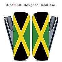 iQOS3DUO用ハードケース【ANA-Lyn】国旗 ジャマイカ 完全国内受注生産品アイコス3デュオ iQOS3DUO オリジナル アイコス3デュオカバー ケース