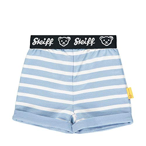 Steiff Baby-Jungen Shorts, Blau (Forever Blue 6027), Gr. 86