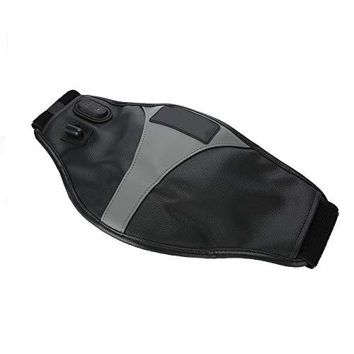 Cinturón de masaje de cintura, elimina la hinchazón, cómodo masajeador de cintura eléctrico, ajustable, envolvente, cuero de la PU, personas sedentarias para hombres,(European regulations)