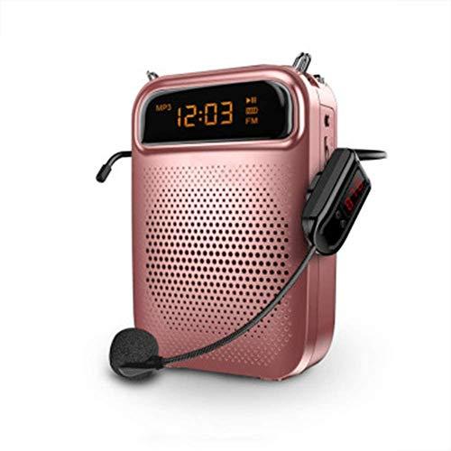 XIAOWANG Lautsprecher Verstärker Stimme Mini-Sprachverstärker, tragbar, kabellos, Megafon, geeignet für Trainer...