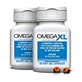 Omega XL (2 Pack) 60 Capsules - Green Lipped Mussel New Zealand, Omega 3 Natural Joint Pain Relief & Inflammation Supplement