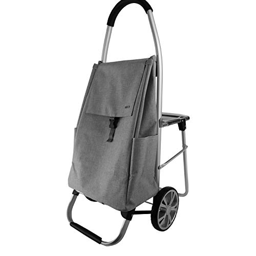 GF Carretilla portátil ~ Con el taburete del asiento Carro