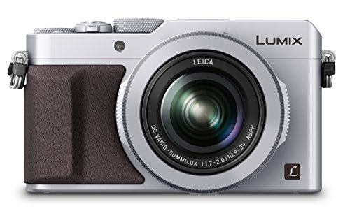 Panasonic DMC-LX100EBS Digital Camera (4/3 inch MOS Sensor, f1.7-2.8 LEICA DC VARIO-SUMMILUX Lens with 24-75mm) – Silver