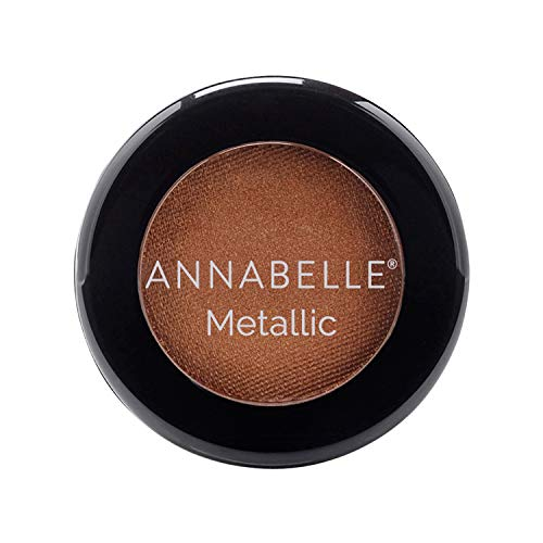 Annabelle Metallic Single Eyeshadow, Over the Taupe, 0.05 oz