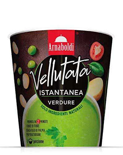 Arnaboldi Vellutata di Verdure Vegetariana, Zuppe Pronte Vegetariane [6 Confezione da 35g]
