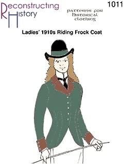 1910s Ladies' Riding Frock Coat Pattern