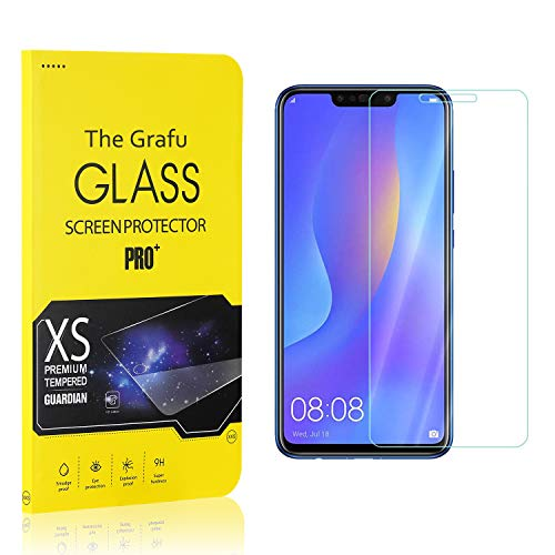 Find Bargain The Grafu Screen Protector Compatible with Huawei Nova 3I, Tempered Glass, Scratch Resi...