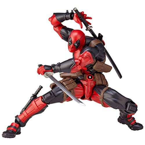 EASTVAPS 16cm Super Hero X-Men Deadpool Figura Variante Movible PVC Figuras de acción Colección Modelo de Juguete
