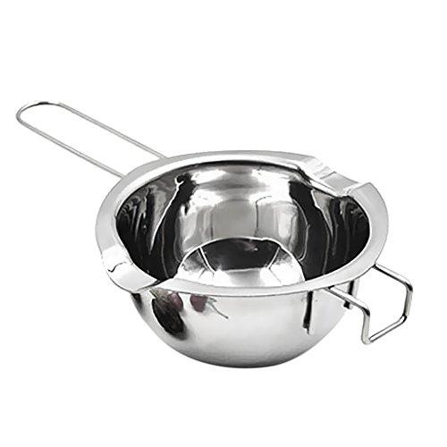 Gazechimp Bol Casserole Bain-Marie en Acier Inoxydable Cuisine Artisanale Cuisson Pâtisserie