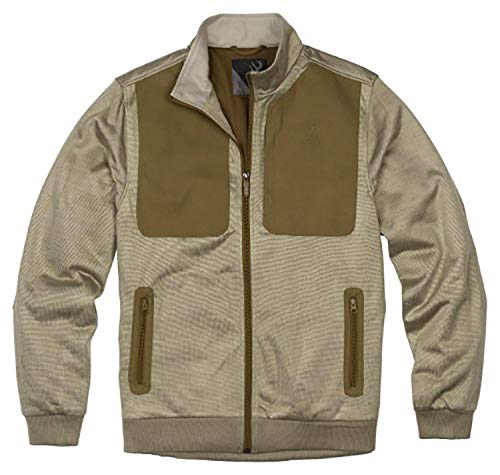 Browning 3010636403 Sweater,Quincy,Brck/Mgreen,L