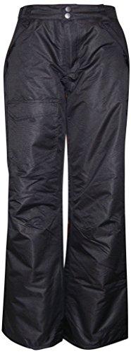 Pulse Big Girls Rider Skiing Ski Snow Pants Insulated (L (14/16), Black)