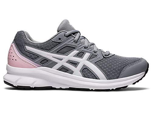 ASICS Women's JOLT 3 Running Shoe, 8.5, Sheet Rock/Pink Salt
