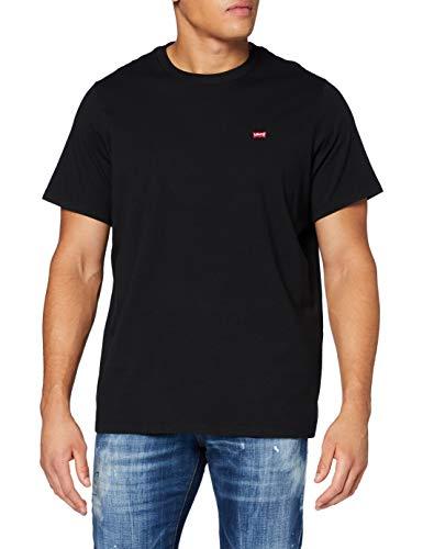 Levi's Big Original Hm tee Camiseta, Negro Mineral, 4X-Large para Hombre