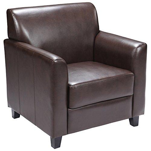Flash Furniture HERCULES Diplomat Series Brown Leather Chair