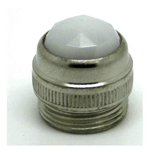 Weiße Linse für Tischverstärker Magnatone Peavy
