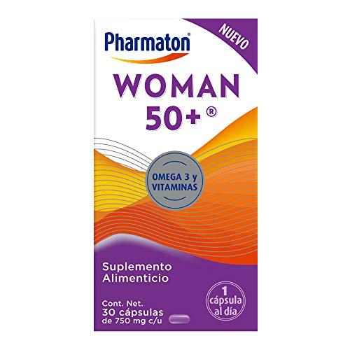 Pharmaton Woman 50+ Suplemento Alimenticio para Mujeres 30 Caps