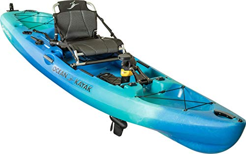 Ocean Kayak Malibu Pedal Recreational Kayak (Seaglass, 12 Feet)