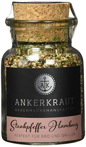 Ankerkraut Steakpfeffer Hamburg, Ankerkraut Hausmischung, grober Steakhouse-Pfeffer, 80g im...