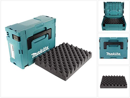 Makita MAKPAC 2 Systemkoffer - mit...