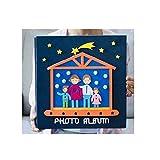 Kaiyitong01 Fotoalbum, selbstklebendes traditionelles Fotoalbum, handgefertigte Cartoon Baby Kind Wachstum Rekordbuch, rot, Sicherheit (Color : 6)
