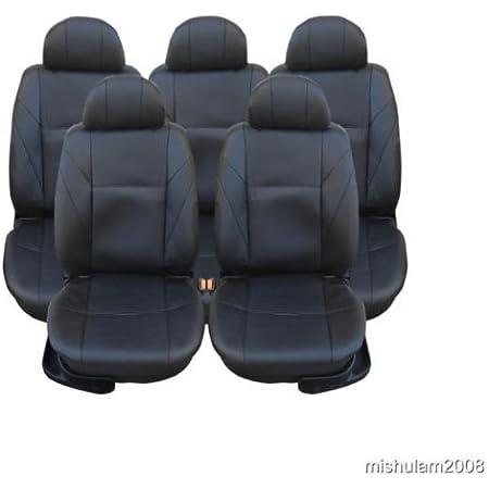 5x Sitze Sitzbezüge Schonbezüge Schonbezug Schwarz Auto