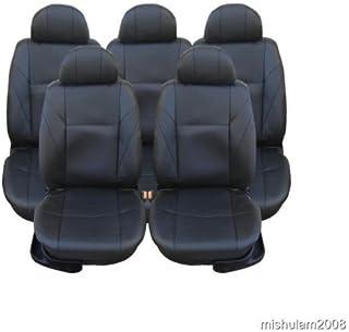 5x Sitze Sitzbezüge Schonbezüge Schonbezug Schwarz