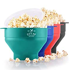 QUICK & EASY POPCORN Enjoy the ultimate snacking experience at the comfort of your home. Make 15 cups of delectable popcorn within a few minutes with our durable Silicone Popcorn Popper. It's better than harmful pre-package microwavable popcorn bags ...