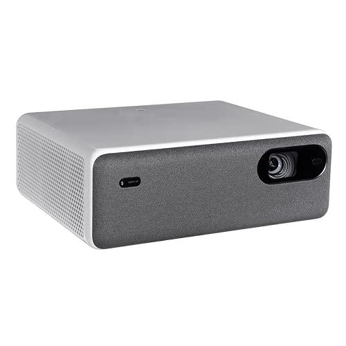 Proyector Doméstico Pantalla De 250 Pulgadas Wifi Bluetooth Proyector De Cine En Casa Con Altavoz Dual 10W Pantalla De 180 µ