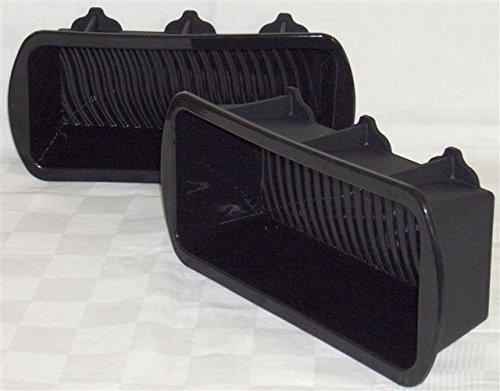 Große Kastenform 2er - 24 cm x 10 cm x 6,5 cm, Für zusätzliche stablility Verstärkungsrippeng, 10 Jahre Garantie