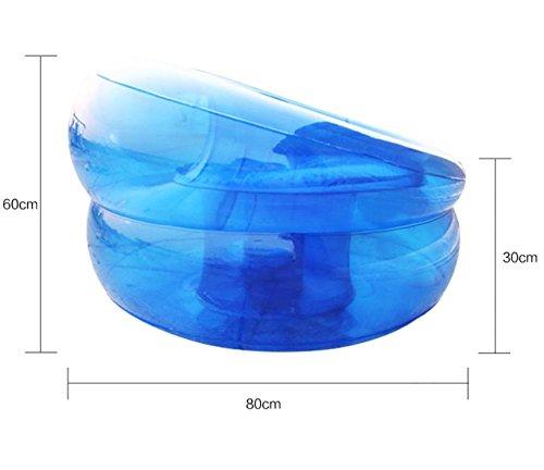sofa&shengshiyujia Sizll Gonflable Gonflable Unique Canapé/Seat/épaissir/Bleu Eau Canapé
