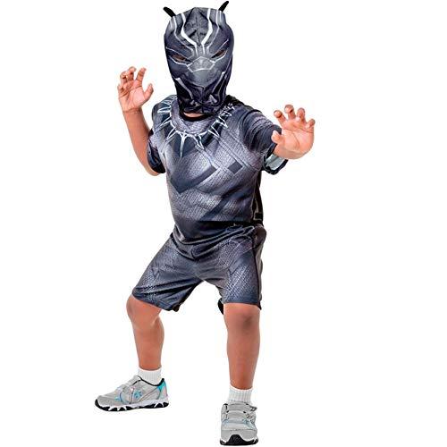 Fantasia Pantera Negra Curta Infantil Guerra Civil M 5-8