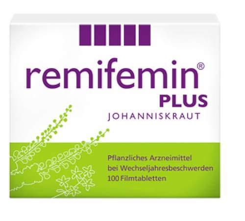 Remifemin Plus Johanniskraut Spar Set: 2 x100 Stück