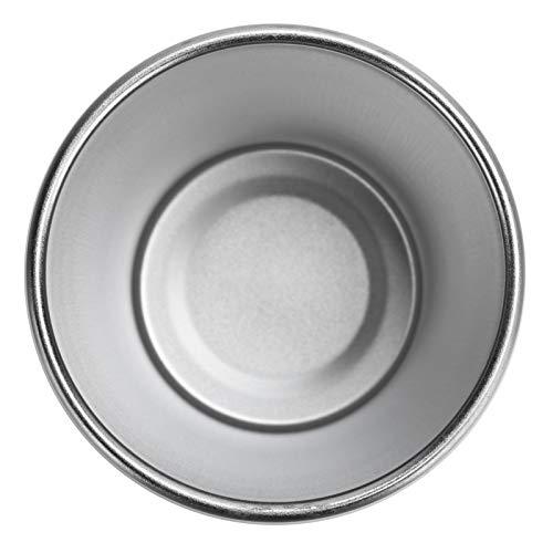 Taza de agua, taza de acero inoxidable de moda 4 piezas más duradera para pescar para acampar
