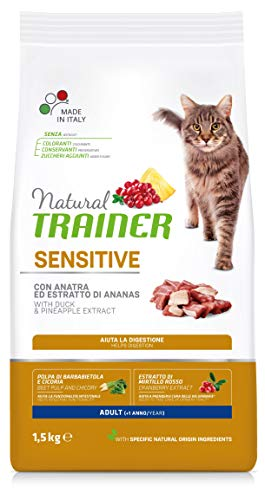 Trainer Natural Cat Sensitive Adult con Anatra 1.5 kg X 6-9000 Gr
