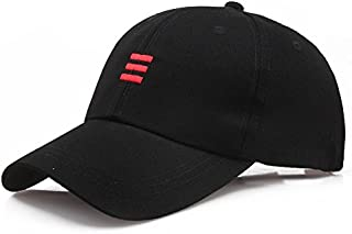 iYBUIA Fashion Cotton Unisex Hats Hip-Hop Letter Adjustable Baseball Cap