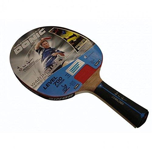 Donic Schildkröt Tischtennis-Schläger Waldner 700 inkl.Gratis-Lern-DVD, schwarz / rot
