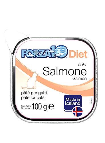Forza10 Gatto, Dieta Solo Salmone dall'Islanda Gr.100