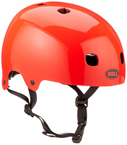 Bell Kinder Fahrradhelm Segment Junior 16, Infrared, S, 210093006