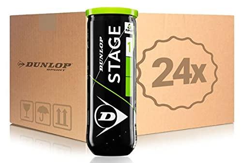 Dunlop Dunlop Stage 1 tennisballen groen X72 (24X3) Box