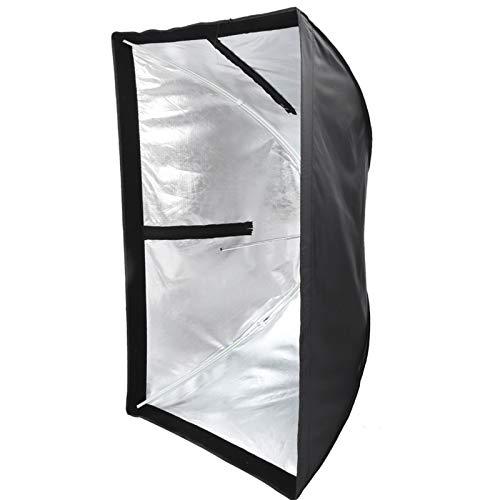 Bindpo Caja de luz para Flash de cámara, 60x90 cm Cubierta difusor de Caja de luz de Flash Plegable Universal para fotografía de Estudio