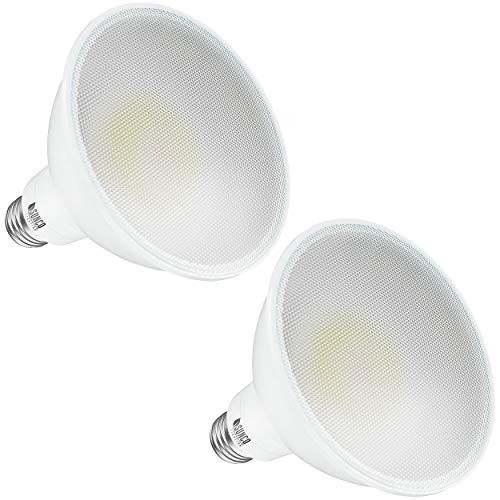 Sunco Lighting 2 Pack PAR38 LED Bulb 20W=250W, 3000K Warm White, 2800 LM, Dimmable Flood Light, Indoor/Outdoor, Waterproof - UL
