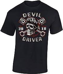 Baddery Camiseta: Devil Driver - Regalo Motero