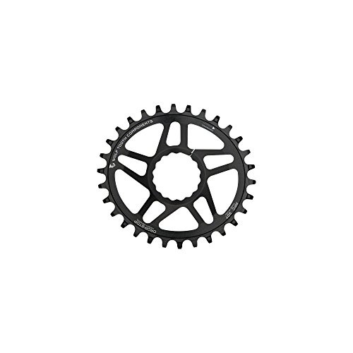 Wolf Tooth Monoplato Oval Race Face Cinch Negro 32 Dientes